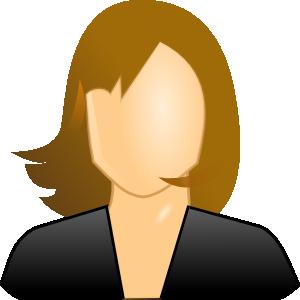 Female testimonial icon